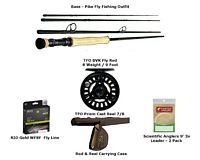 Bass/Pike Fly Fishing Outfit